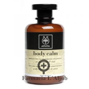 Apivita Body Calm gel de ducha pieles sensibles 300ml