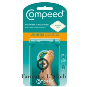 Compeed Juanetes Hidrocoloide 5 Ud