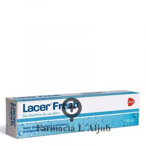 Lacer Fresh pasta de dientes aliento fresco 125ml