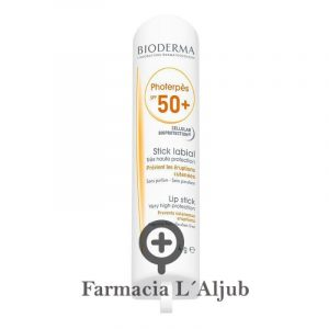 Bioderma Photerpes protector solar labial y herpes stick SPF50+