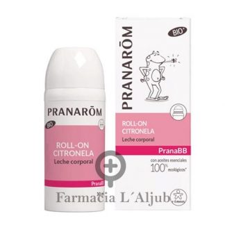 Pranarom PranaBB roll-on citronella repelente para niños 30ml