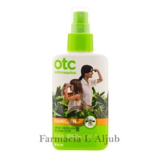 OTC antimosquitos spray repelente de insectos familiar 100ml