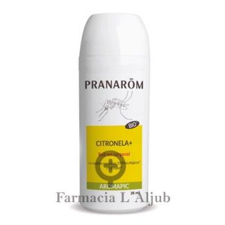 Pranarom Aromapic Citronela+ roll-on repelente de mosquitos 75ml